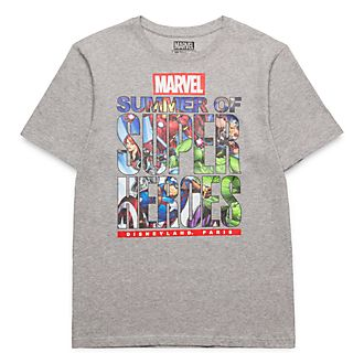 T-Shirt pour adultes Summer of Super Heroes Marvel Disneyland Paris