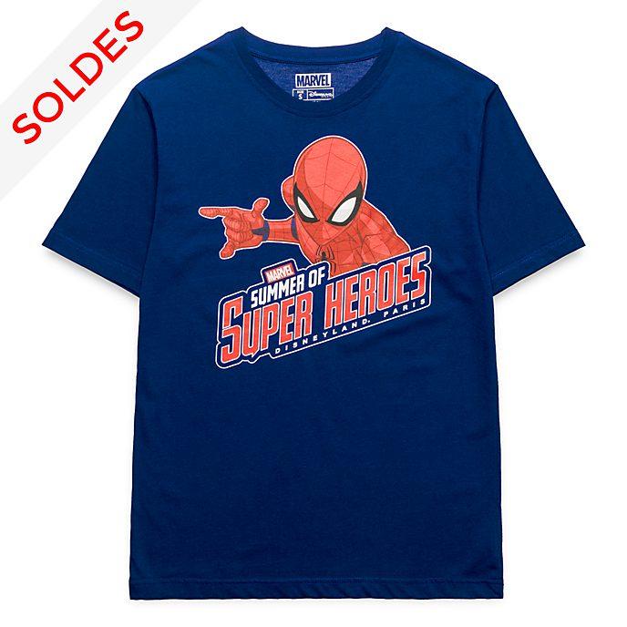T-Shirt pour adultes Marvel Spiderman Disneyland Paris