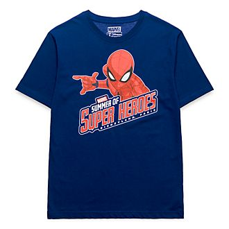 T-Shirt pour adultes Marvel Spiderman Disneyland Paris