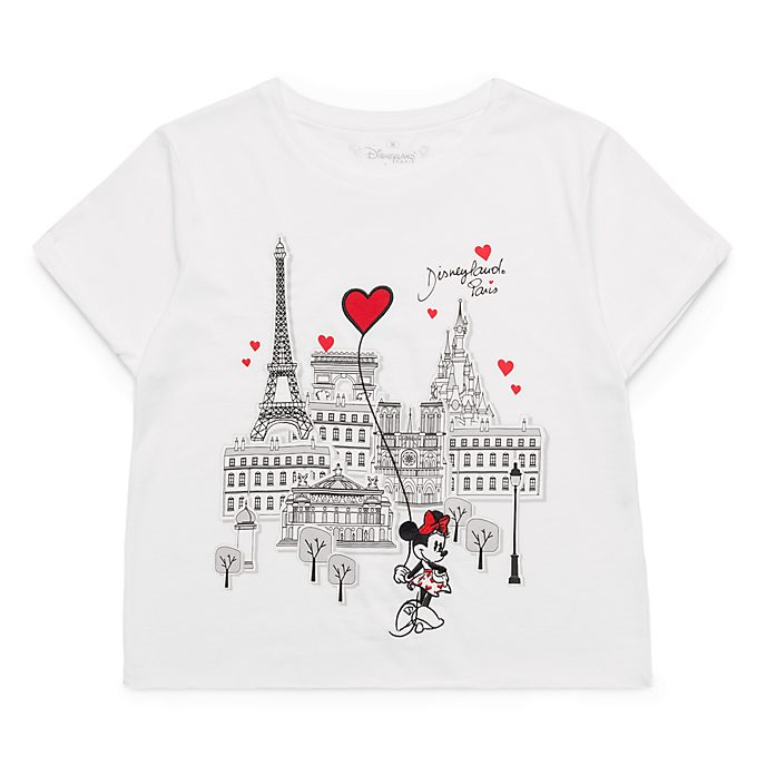 Disneyland Paris Paris Mon Amour Cropped Top for Adults