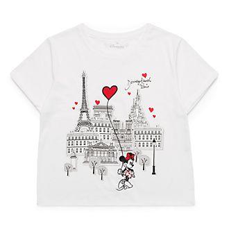 T-Shirt court pour adultes Paris Mon Amour Disneyland Paris