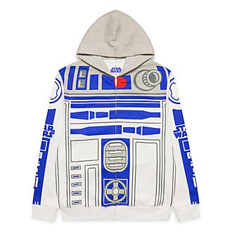 Sweat à capuche zippé pour adultes Star Wars R2D2 Disneyland Paris