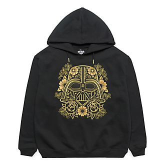 Disneyland Paris Star Wars Flower Darth Vader Hoodie for Adults