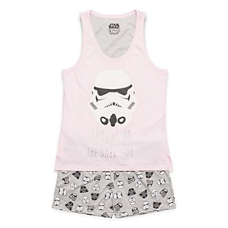 Ensemble de pyjama avec short pour adultes Star Wars Stormtrooper Disneyland Paris