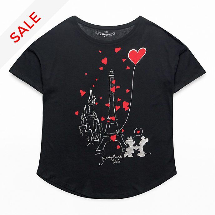 Disneyland Paris Paris Mon Amour Oversized T-Shirt for Adults