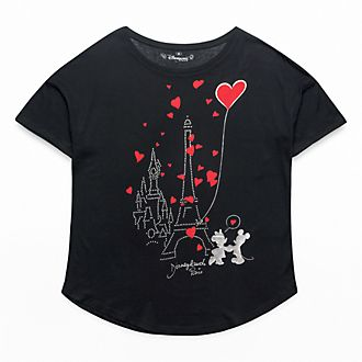 T-Shirt oversize pour adultes Paris Mon Amour Disneyland Paris