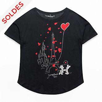 T-Shirt oversize pour adultes Paris Mon Amour Disneyland Paris
