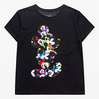 T-Shirt pour adultes silhouette Mickey Disneyland Paris - Collection Colour Spot