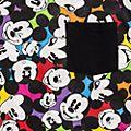 T-Shirt pour adultes motif intégral Mickey Disneyland Paris - Collection Colour Spot