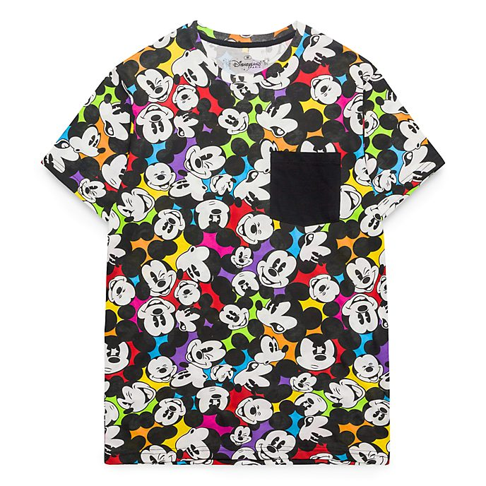 Disneyland Paris All Over Mickey T Shirt For Adults Colour Spot
