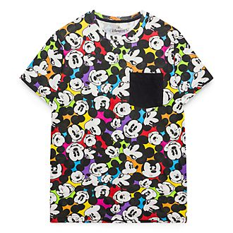 Disneyland Paris All-Over Mickey T-Shirt for Adults - Colour Spot Collection