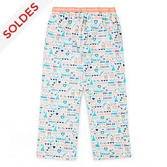Pantalon de pyjama pour adultes I Love Mickey & Minnie Disneyland Paris