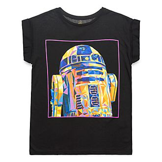 Disneyland Paris Star Wars R2-D2 T-Shirt for Adults