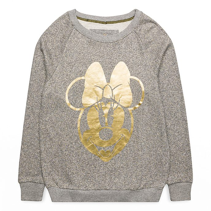 Sweatshirt Minnie Gold Disneyland Paris