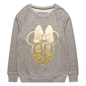 Sweatshirt Minnie Gold Disneyland Paris