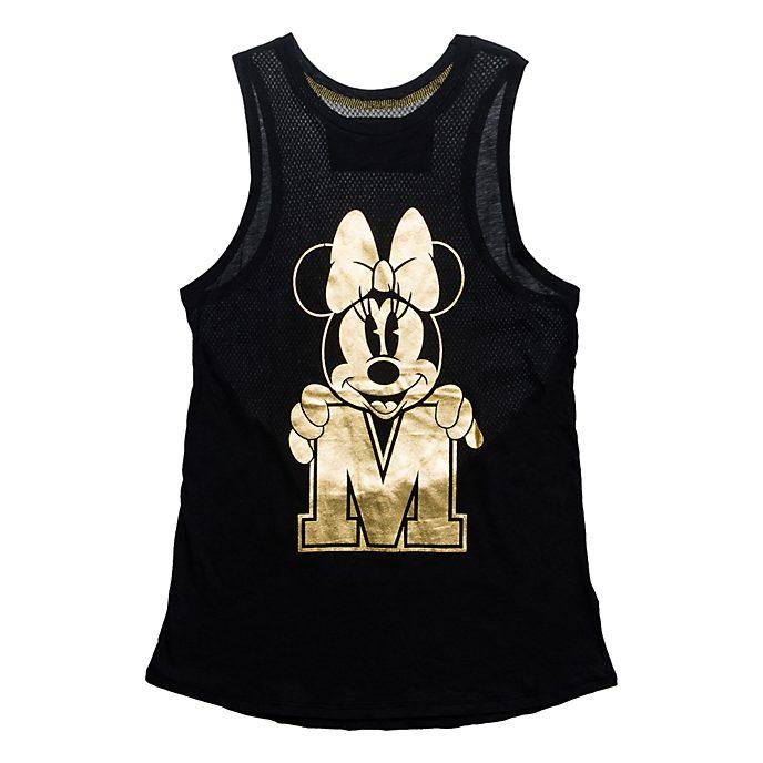 Débardeur pour adultes Minnie Gold Disneyland Paris