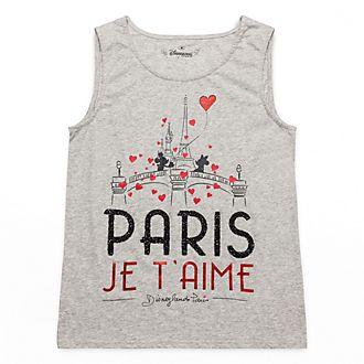 Haut sans manches Paris Mon Amour Disneyland Paris