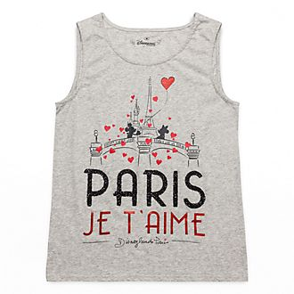 Disneyland Paris Sleeveless Paris Mon Amour Top