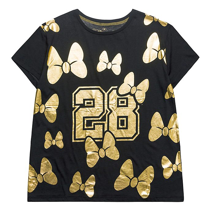 Disneyland Paris Minnie Gold T-Shirt for Adults
