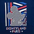 T-Shirt à rayures pour adultes Mickey Disneyland Paris - Collection Rayures Rebelles