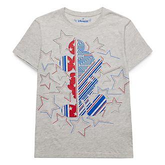 T-Shirt étoiles et rayures pour adultes Mickey Disneyland Paris - Collection Rayures Rebelles