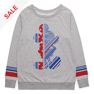 Disneyland Paris Mickey Silhouette Sweatshirt for Adults - Rayures Rebelles Collection