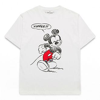 T-Shirt pour adultes Mickey Comics Disneyland Paris