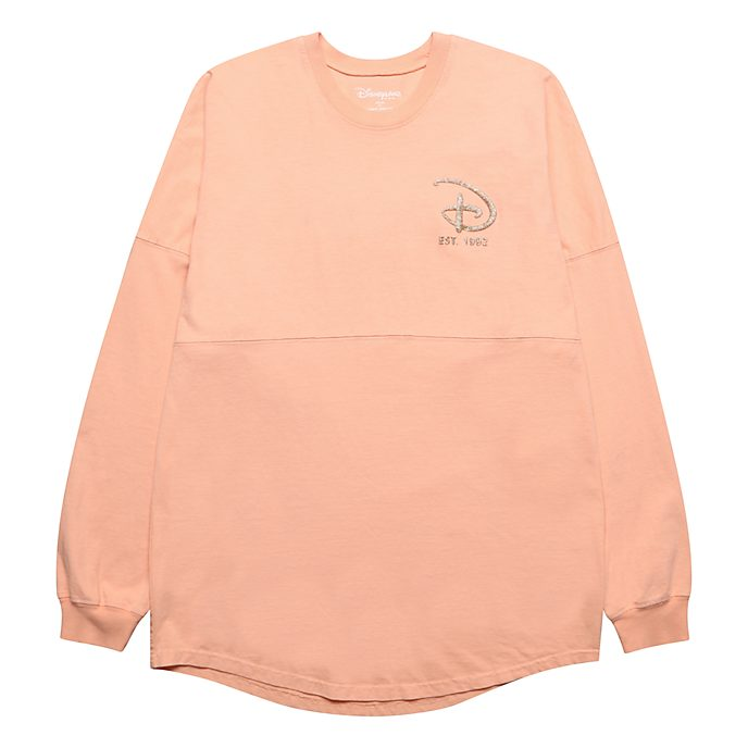 Disneyland Paris Spirit Jersey Sweat rose doré pour adultes