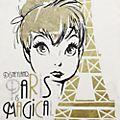 Disneyland Paris T-shirt Fée Clochette blanc pour femmes