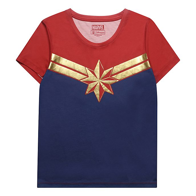 Captain T Pour Marvel Paris Femmes Shirt Disneyland TF1l3KJc