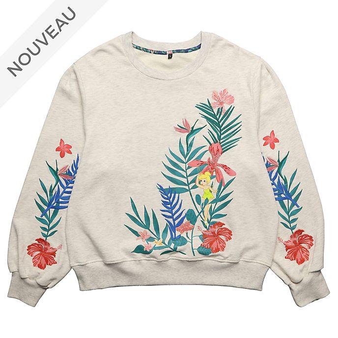 Disneyland Paris Sweatshirt Clochette Secret Garden pour adultes