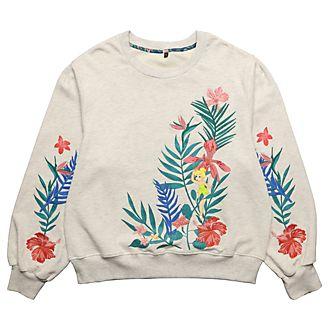 Disneyland Paris Tinker Bell Secret Garden Sweatshirt For Adults