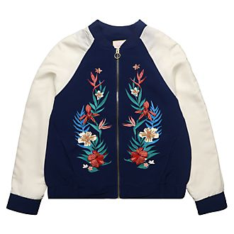 Disneyland Paris Tinker Bell Secret Garden Bomber Jacket For Adults
