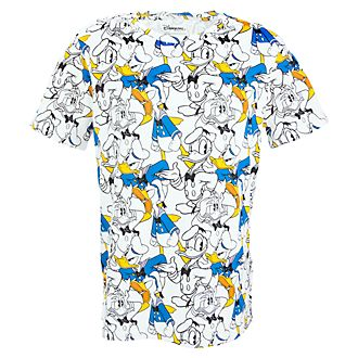 T-Shirt Motif Intégral Donald pour Adultes Disneyland Paris x Eleven Paris