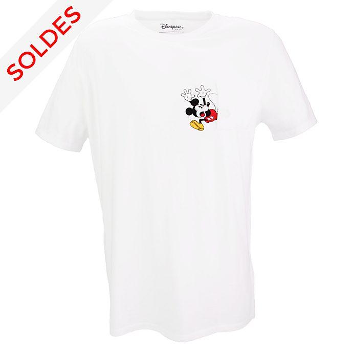 T-Shirt Mickey avec poche pour Adultes Disneyland Paris x Eleven Paris