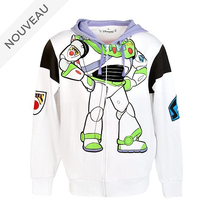 Disneyland Paris Sweatshirt à capuche Buzz l'Éclair pour adultes