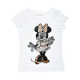 Disneyland Paris Minnie Mouse Reversible Sequin T-Shirt For Kids