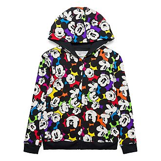 Disneyland Paris Mickey Mouse Color Spot Sweatshirt For Kids