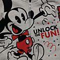 Disneyland Paris Sweatshirt à capuche Mickey pour enfants