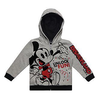 daeb8cc338e84 Disneyland Paris Sweatshirt à capuche Mickey pour enfants