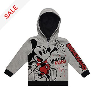 Disneyland Paris Mickey Mouse Hooded Sweatshirt For Kids