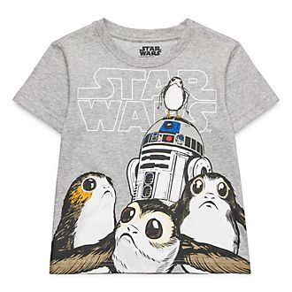 T-Shirt pour enfants Star Wars Porgs Disneyland Paris
