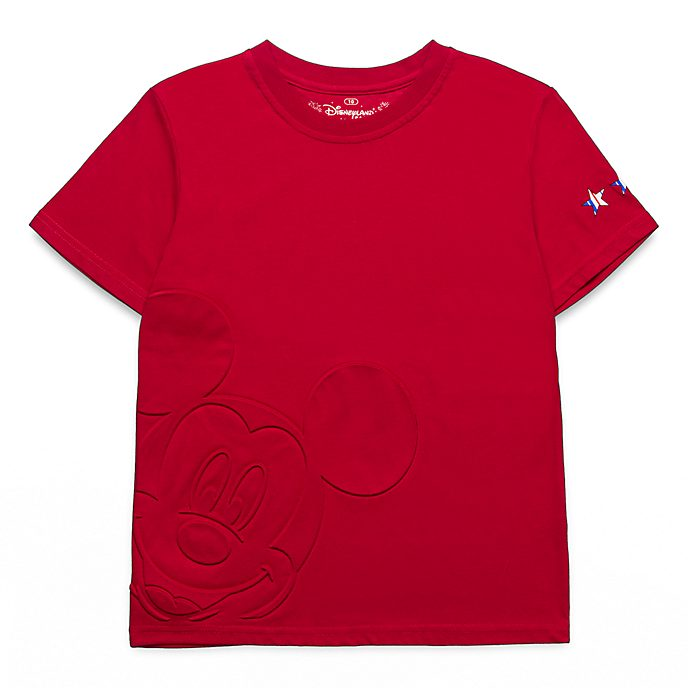 Disneyland Paris Mickey Mouse Embossed T-Shirt For Kids