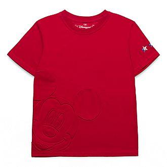 T-Shirt pour enfants motif relief Mickey Mouse Disneyland Paris
