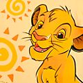 Disneyland Paris T-shirt Simba pour bébé, Le Roi Lion