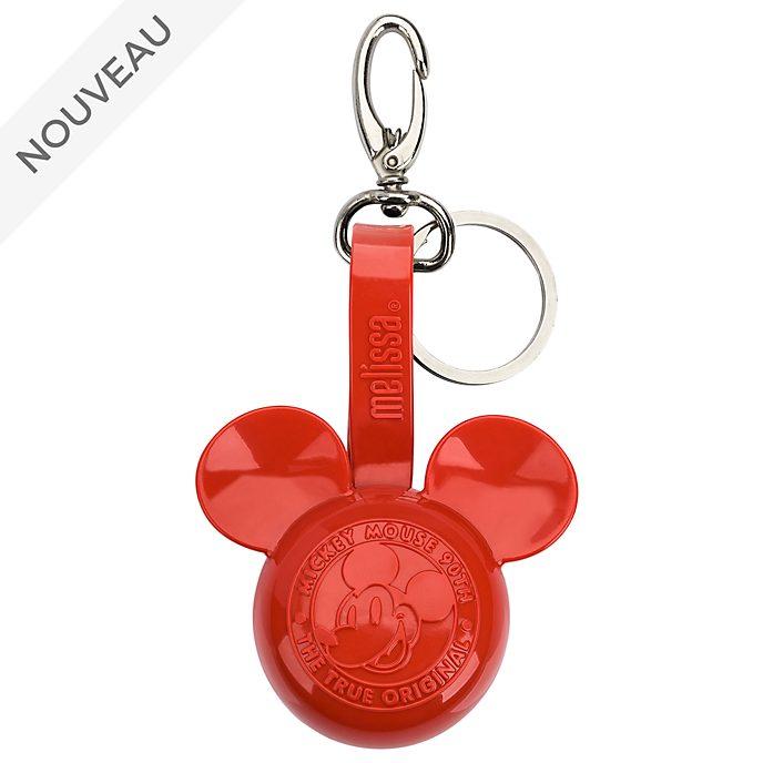 Melissa Breloque de sac Mickey rouge