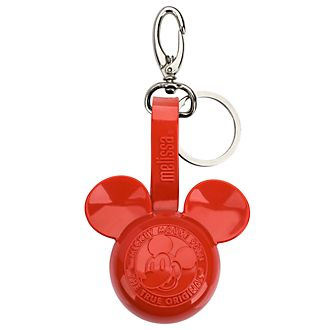 Melissa Breloque de sac Mickey rouge