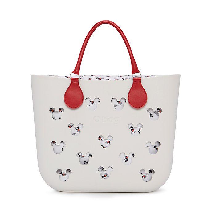 O Bag Mickey Mouse White Handbag
