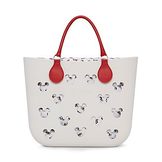 O Bag - Micky Maus - weiße Handtasche