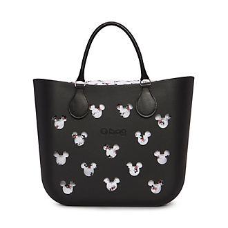 O Bag Mickey Mouse Black Handbag